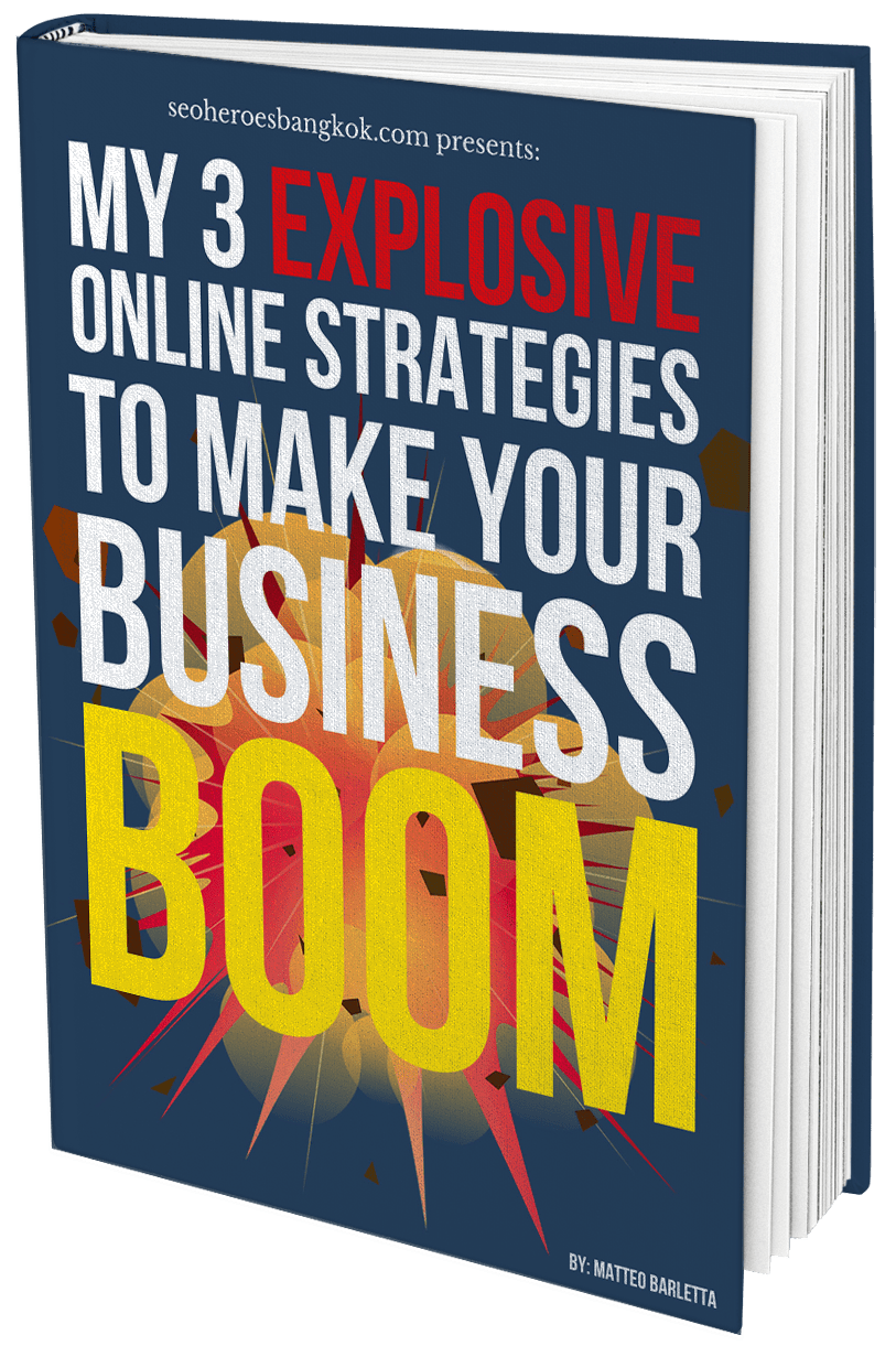 My 3 Explosive Online Strategies to Make Your Business Boom!