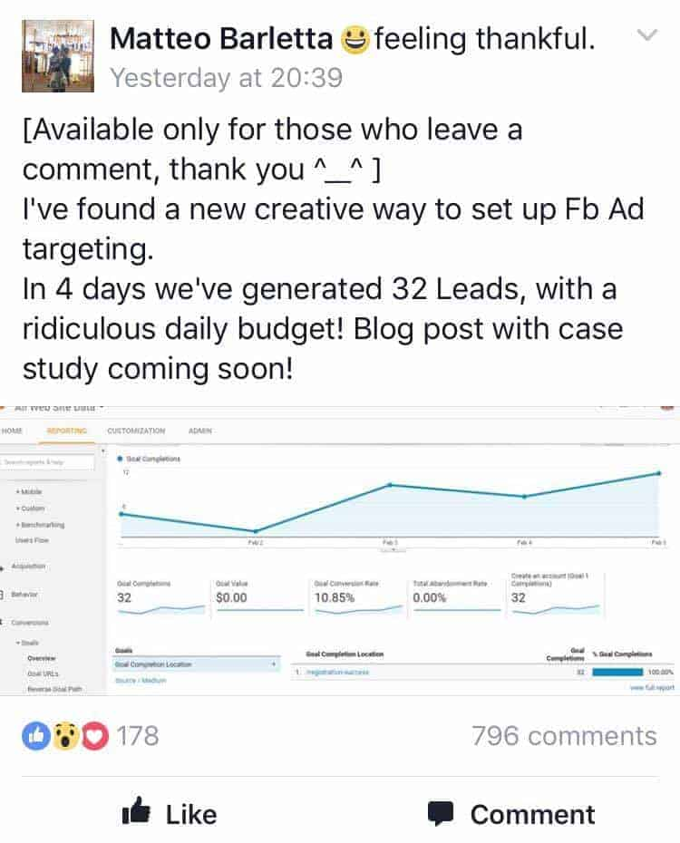 How to Generate High-Value Leads for ONLY  with Facebook™ Ads