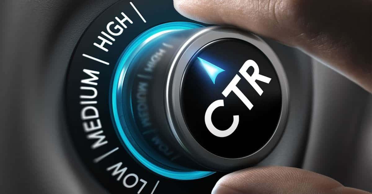 CTR optimization banner