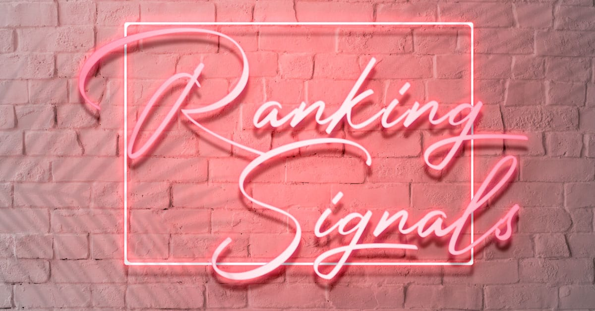Ranking-Signals